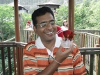 Pramod is happy so is parrot