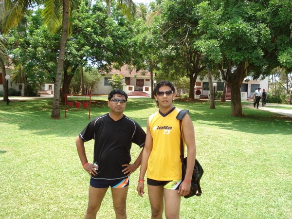 amit and amit going to pool